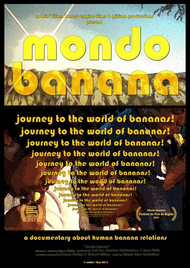 MONDO BANANA poster Sept 2013